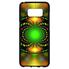 Christmas Ornament Fractal Samsung Galaxy S8 Black Seamless Case