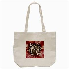 Background Star Red Abstract Tote Bag (cream) by Celenk