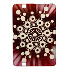 Background Star Red Abstract Kindle Fire Hd 8 9  by Celenk
