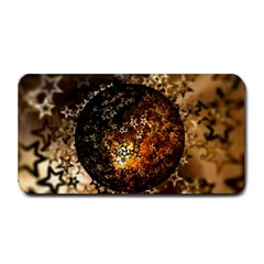 Christmas Bauble Ball About Star Medium Bar Mats by Celenk