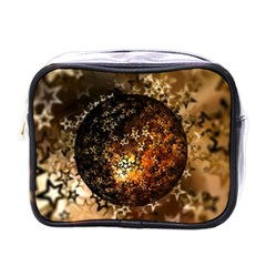 Christmas Bauble Ball About Star Mini Toiletries Bags by Celenk