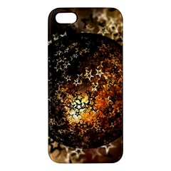 Christmas Bauble Ball About Star Apple Iphone 5 Premium Hardshell Case by Celenk