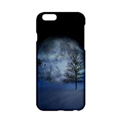 Winter Wintry Moon Christmas Snow Apple Iphone 6/6s Hardshell Case by Celenk
