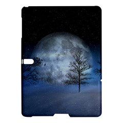 Winter Wintry Moon Christmas Snow Samsung Galaxy Tab S (10 5 ) Hardshell Case  by Celenk