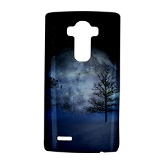 Winter Wintry Moon Christmas Snow Lg G4 Hardshell Case by Celenk