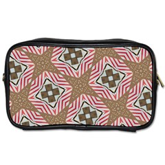 Pattern Texture Moroccan Print Toiletries Bags by Celenk