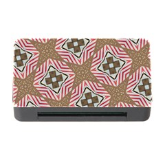 Pattern Texture Moroccan Print Memory Card Reader With Cf by Celenk