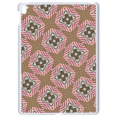 Pattern Texture Moroccan Print Apple Ipad Pro 9 7   White Seamless Case by Celenk