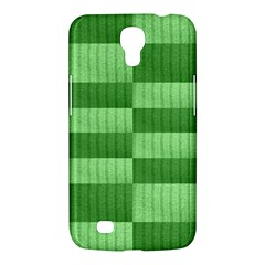 Wool Ribbed Texture Green Shades Samsung Galaxy Mega 6 3  I9200 Hardshell Case by Celenk