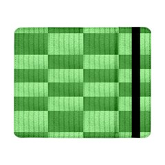 Wool Ribbed Texture Green Shades Samsung Galaxy Tab Pro 8 4  Flip Case