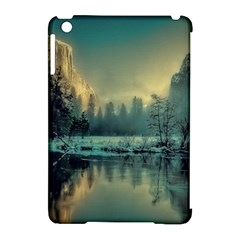 Yosemite Park Landscape Sunrise Apple Ipad Mini Hardshell Case (compatible With Smart Cover) by Celenk