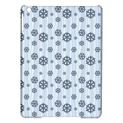 Snowflakes Winter Christmas Card Ipad Air Hardshell Cases by Celenk