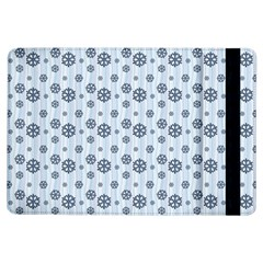 Snowflakes Winter Christmas Card Ipad Air Flip by Celenk