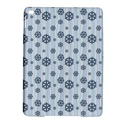 Snowflakes Winter Christmas Card Ipad Air 2 Hardshell Cases by Celenk