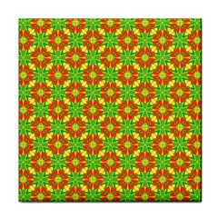 Pattern Texture Christmas Colors Tile Coasters by Celenk