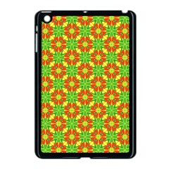 Pattern Texture Christmas Colors Apple Ipad Mini Case (black) by Celenk
