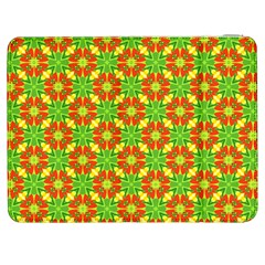 Pattern Texture Christmas Colors Samsung Galaxy Tab 7  P1000 Flip Case by Celenk