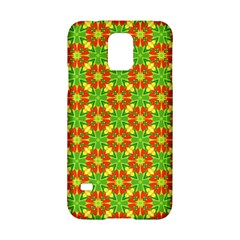 Pattern Texture Christmas Colors Samsung Galaxy S5 Hardshell Case  by Celenk
