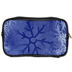 Winter Hardest Frost Cold Toiletries Bags 2 Side by Celenk