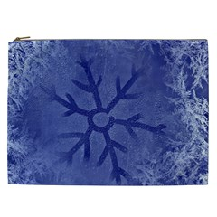 Winter Hardest Frost Cold Cosmetic Bag (xxl)  by Celenk