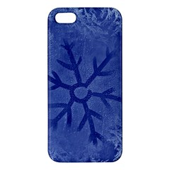 Winter Hardest Frost Cold Apple Iphone 5 Premium Hardshell Case by Celenk