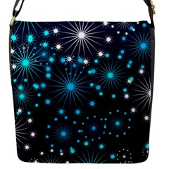 Wallpaper Background Abstract Flap Messenger Bag (s) by Celenk