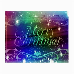 Christmas Greeting Card Frame Small Glasses Cloth by Celenk