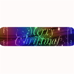 Christmas Greeting Card Frame Large Bar Mats by Celenk