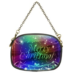 Christmas Greeting Card Frame Chain Purses (two Sides)  by Celenk