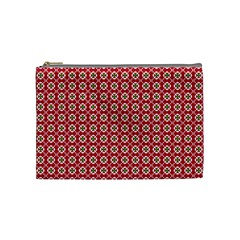 Christmas Wrapping Paper Cosmetic Bag (medium)  by Celenk