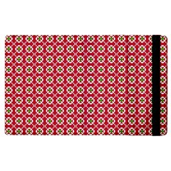 Christmas Wrapping Paper Apple Ipad 3/4 Flip Case by Celenk