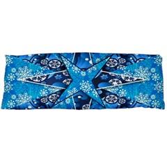 Christmas Background Wallpaper Body Pillow Case (dakimakura) by Celenk