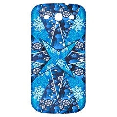 Christmas Background Wallpaper Samsung Galaxy S3 S Iii Classic Hardshell Back Case by Celenk
