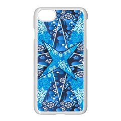 Christmas Background Wallpaper Apple Iphone 7 Seamless Case (white) by Celenk