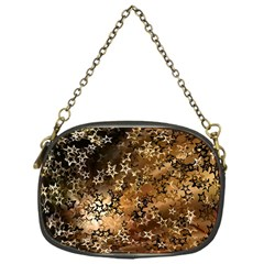 Star Sky Graphic Night Background Chain Purses (one Side)  by Celenk