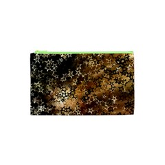 Star Sky Graphic Night Background Cosmetic Bag (xs) by Celenk