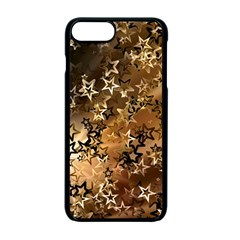 Star Sky Graphic Night Background Apple Iphone 7 Plus Seamless Case (black) by Celenk