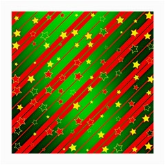 Star Sky Graphic Night Background Medium Glasses Cloth (2 Side) by Celenk