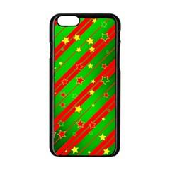 Star Sky Graphic Night Background Apple Iphone 6/6s Black Enamel Case by Celenk