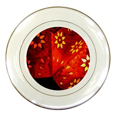 Star Light Christmas Romantic Hell Porcelain Plates by Celenk