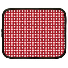 Christmas Paper Wrapping Paper Netbook Case (xxl)