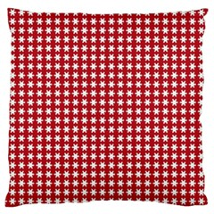 Christmas Paper Wrapping Paper Large Cushion Case (two Sides) by Celenk