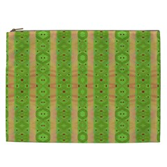 Seamless Tileable Pattern Design Cosmetic Bag (xxl)  by Celenk