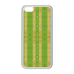 Seamless Tileable Pattern Design Apple Iphone 5c Seamless Case (white) by Celenk