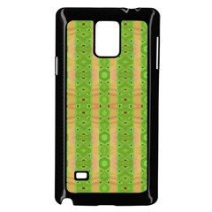 Seamless Tileable Pattern Design Samsung Galaxy Note 4 Case (black) by Celenk