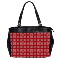 Christmas Paper Wrapping Paper Office Handbags (2 Sides)  by Celenk