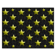 Stars Backgrounds Patterns Shapes Rectangular Jigsaw Puzzl by Celenk