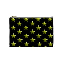 Stars Backgrounds Patterns Shapes Cosmetic Bag (medium)  by Celenk