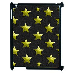 Stars Backgrounds Patterns Shapes Apple Ipad 2 Case (black) by Celenk