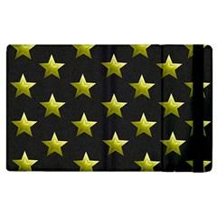 Stars Backgrounds Patterns Shapes Apple Ipad 3/4 Flip Case by Celenk